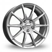 Image for Momo Rush Hyper_Silver Alloy Wheels