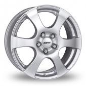 Image for Alutec Plix Silver Alloy Wheels
