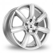 Image for BK_Racing 808 Silver_Polished Alloy Wheels