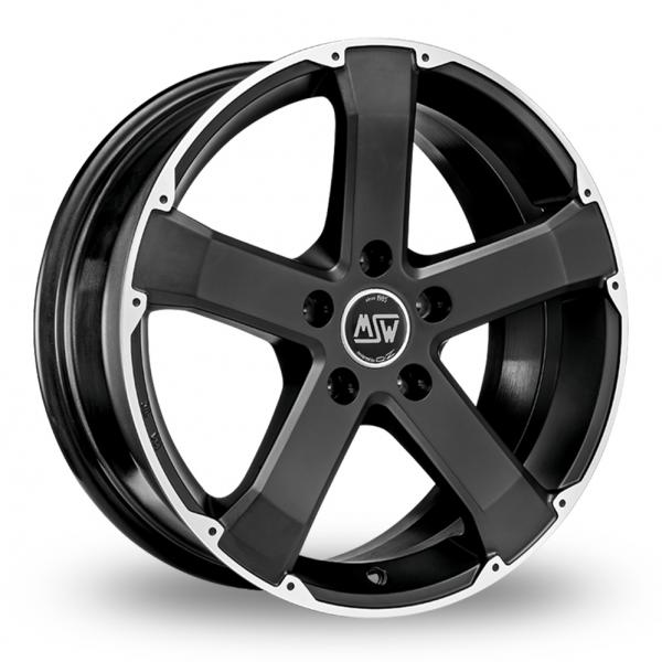 Zoom MSW_(by_OZ) 45 Matt_Black Alloys