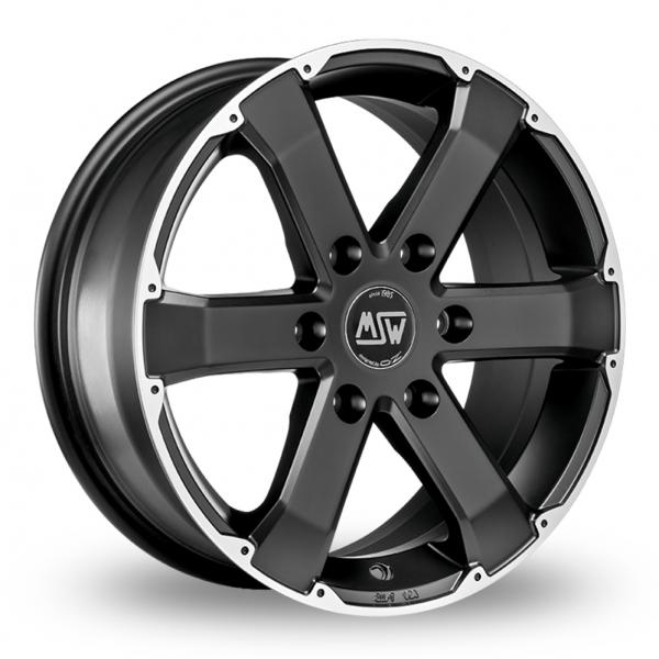 Zoom MSW_(by_OZ) 46 Matt_Black Alloys