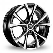 Image for MSW_(by_OZ) Cross_Over Matt_Black Alloy Wheels