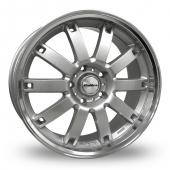 Image for Calibre Boulevard Silver Alloy Wheels