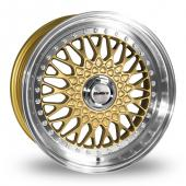 Image for Calibre Vintage Gold Alloy Wheels