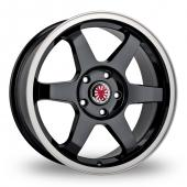 Image for Wolfrace Asia-Tec_JDM Black_Polished Alloy Wheels
