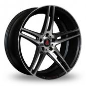 Image for Axe EX12_Wider_Rear Black_Polished Alloy Wheels