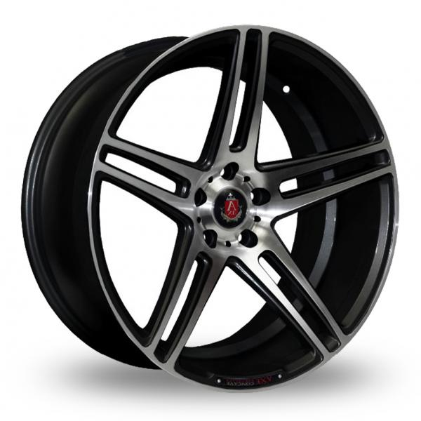 Zoom Axe EX12_Wider_Rear Black_Polished Alloys