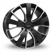 Image for Calibre Kensington Gun_Metal_Polished Alloy Wheels