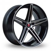 Image for Axe EX14_5x112_Wider_Rear Black_Polished Alloy Wheels