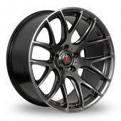 Image for Axe CS_Lite_5x120_Low_Wider_Rear Hyper_Black Alloy Wheels