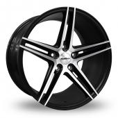 Image for Calibre CC-S_5x120_Wider_Rear Matt_Black Alloy Wheels
