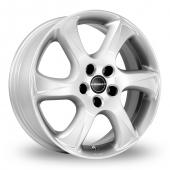 Image for Borbet TC Silver Alloy Wheels