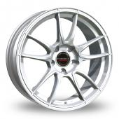 Image for Borbet MC_5x130_Wider_Rear Silver Alloy Wheels