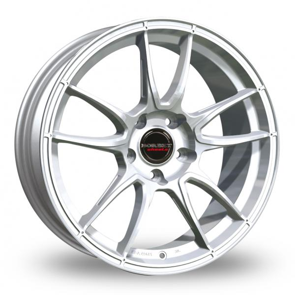 Zoom Borbet MC_5x130_Wider_Rear Silver Alloys