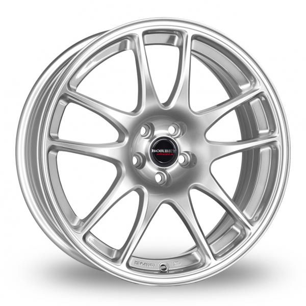 Zoom Borbet RS Silver Alloys