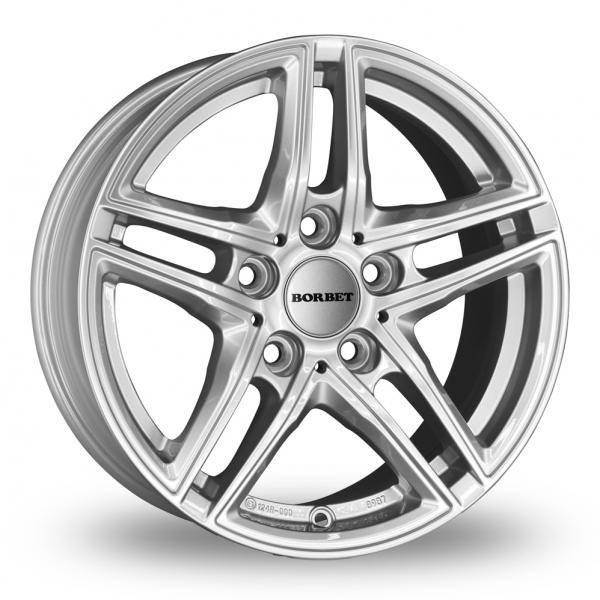 Zoom Borbet XR Silver Alloys