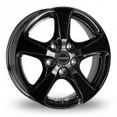 Image for Borbet CC Black Alloy Wheels