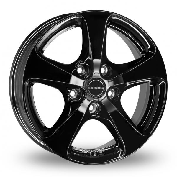 Zoom Borbet CC Black Alloys