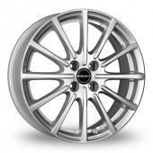 Image for Borbet BL4 Silver Alloy Wheels