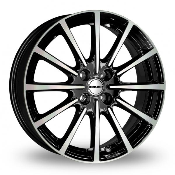 Zoom Borbet BL4 Black_Polished Alloys