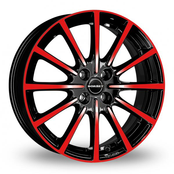 Zoom Borbet BL4 Black_Red Alloys