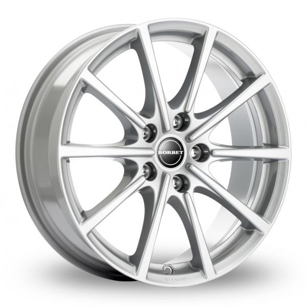 Zoom Borbet BL5 Silver Alloys