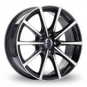 Image for Borbet BL5 Black_Polished Alloy Wheels
