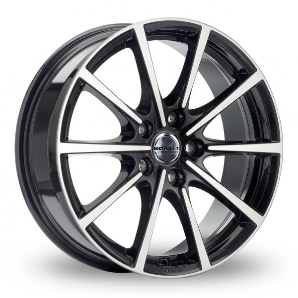 Zoom Borbet BL5 Black_Polished Alloys