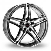 Image for Borbet XRT Black_Polished Alloy Wheels