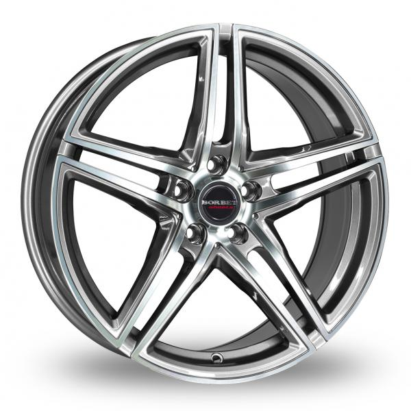 Zoom Borbet XRT Graphite_Polished Alloys