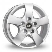 Image for CW_(by_Borbet) CWF Silver Alloy Wheels
