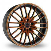 Image for CW_(by_Borbet) CW4 Black_Orange Alloy Wheels