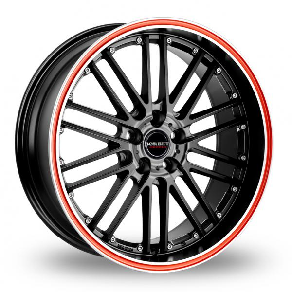 Zoom CW_(by_Borbet) CW2_R_5 Black_Red Alloys