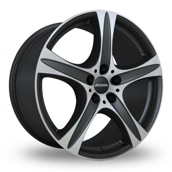 Zoom Ronal R55_SUV Black_Polished Alloys