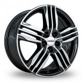 Image for Ronal R57 Black_Polished Alloy Wheels