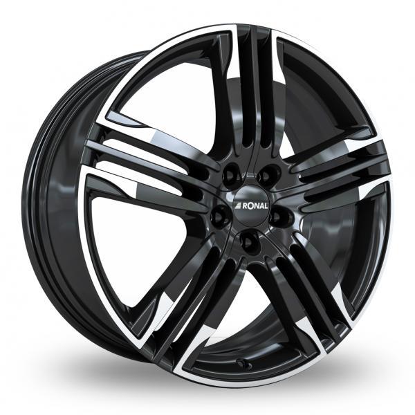 Zoom Ronal R58 Black_White Alloys