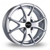 Image for Fox_Racing FX002 Hyper_Silver Alloy Wheels