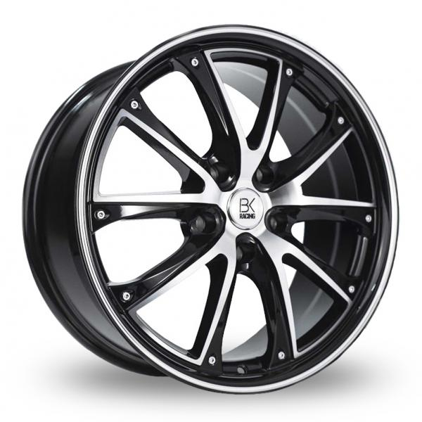 Zoom BK_Racing 201 Black_Polished Alloys