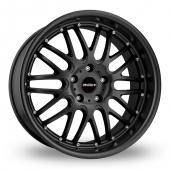 Image for Calibre Spur_5x120_Wider_Rear Matt_Black Alloy Wheels