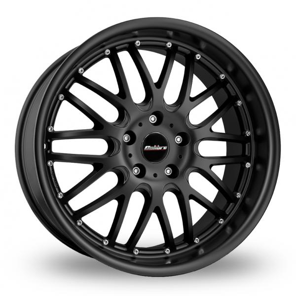 Zoom Calibre Spur_5x120_Wider_Rear Matt_Black Alloys