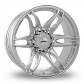 Image for Calibre Arizona Silver Alloy Wheels