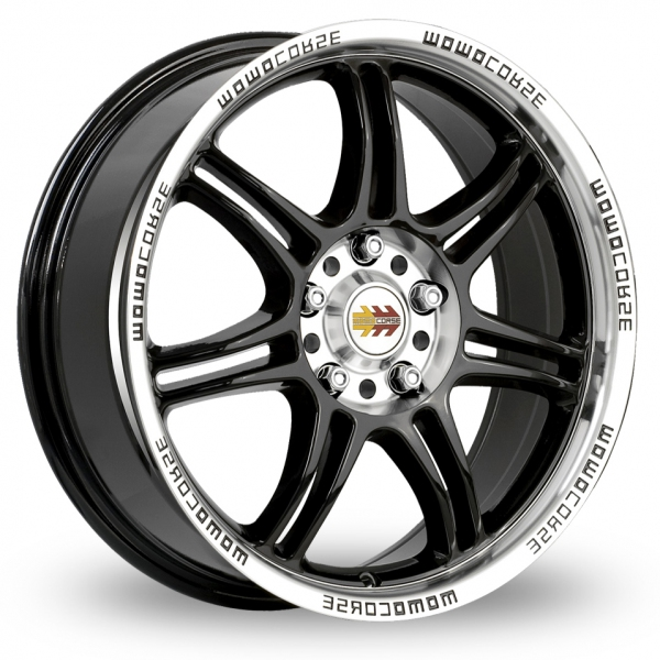 Picture of 17 Inch Momo Corse Black Alloy Wheels