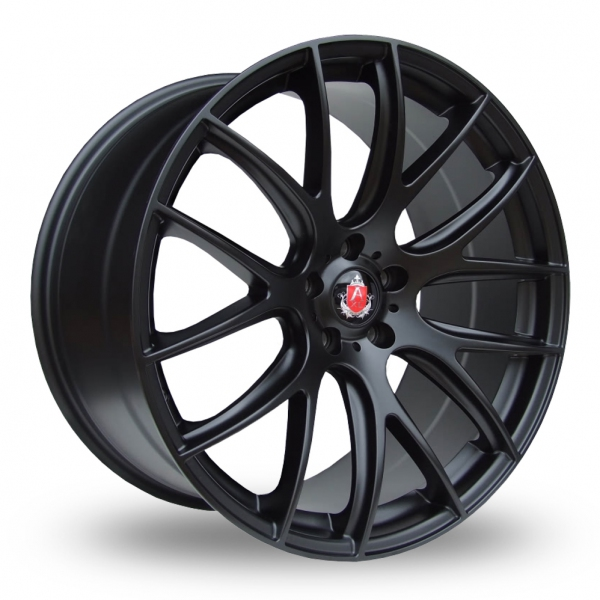 Zoom Axe CS_Lite_5x120_Wider_Rear Matt_Black Alloys