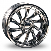 Image for Ace C036B Chrome Alloy Wheels