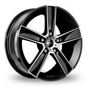 Image for Momo Strike_2 Black_Polished Alloy Wheels
