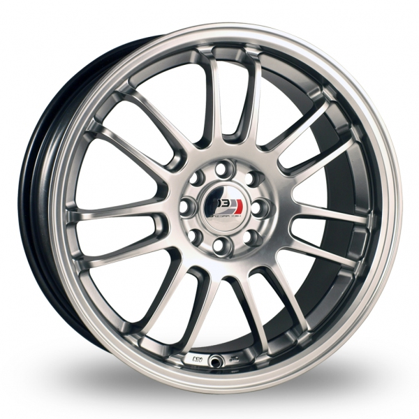 "Picture of 17"" Kei Racing Suzuka HS Alloy Wheels"