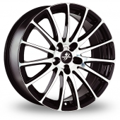 Image for Fondmetal 7800 Black_Polished Alloy Wheels