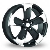 Image for Radius R14 Black Alloy Wheels