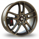 Image for Samurai SC02 Bronze Alloy Wheels
