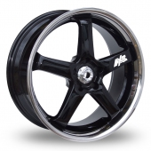 Image for Axe Hiro Black Alloy Wheels